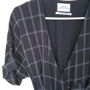 Urban Outfitters wrap-around maxi dress